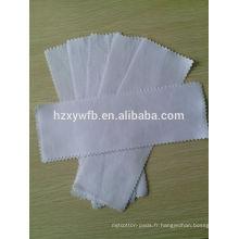 bandes de tissu de cire de mousseline