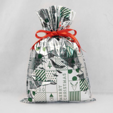 Christmas Plastic Bags Packing Gift Pouches