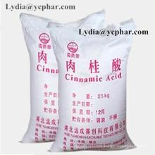Échantillon disponible de haute qualité acide cinnamique avec l'approvisionnement d'usine