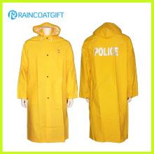 Rpp-052 Veste imperméable en PVC jaune adulte