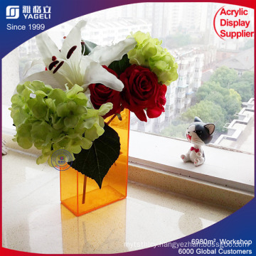 Customized Color Acrylic Flower Box with Lid