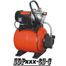 (SDP800-6S-C) Garden Self-Priming Jet Booster Pump with Steel Tank