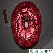 Einstellraum LED Decke Anhänger Licht Aluminium stilvolles Design