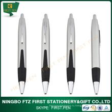 FIRST A004 Рекламная короткая металлическая шариковая ручка Jumbo