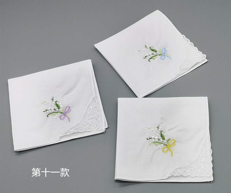Flower Handkerchief Embroidery