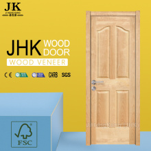 JHK-Latest Modern Interior Natural Teak Veneer Door Designs