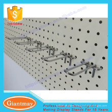 top quality electroplating pegboard hook