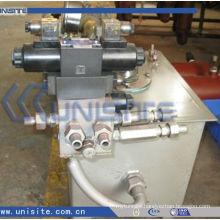 high quality plunger shifting yoke type hydraulic steering rudder(USC-11-004)