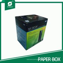 Caixas de papel ondulado da cor quente da venda (FP200092)