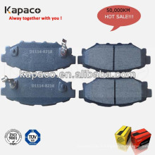 Fabricants de plaquettes de frein de frein auto allemand D1114-8218