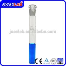 JOAN LAB Tubo colorimétrico con tapón hueco de vidrio