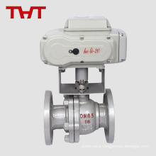 otv electric actuated v pot ball valve