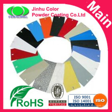 Epoxy polyester color powder coating