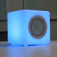 Intelligentes buntes LED-Licht-drahtloser tragbarer Bluetooth-Sprecher