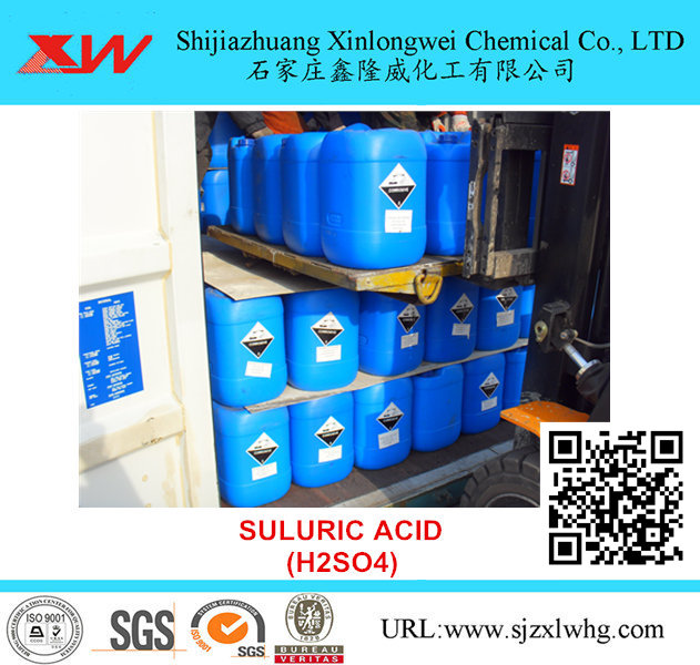 Sulfuric Acid - Glod Extraction Chemical