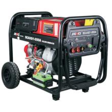 SCAXQ1-250A gasolina 50-240A Generador de soldadura