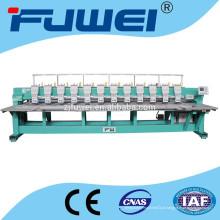 Nova máquina de bordar computadorizada plana de 12 cabeças 6/9