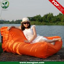 Grand canapé extérieur canapé d'eau coloré flotteur de sacs de haricots