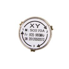 930-960 MHz Inserción baja Montaje en superficie Bomba de circulación de alta temperatura de pérdida rf Aislador de especificación de circulación