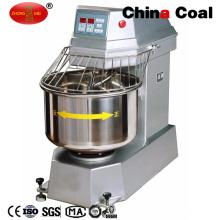 Máquina de mezcla de pasta de pizza de panadería de doble velocidad comercial de pie en soporte comercial