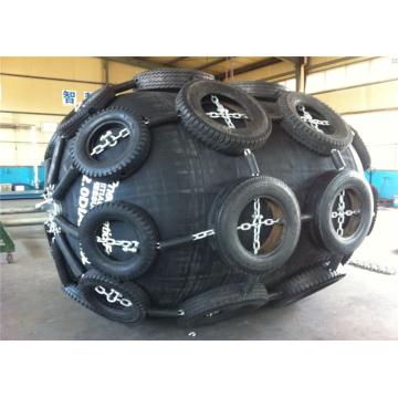 Pára-choques pneumáticos flexíveis da amarração do barco