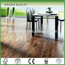 Light Yellow Walnut Solid Wood Flooring With FSC Cetification