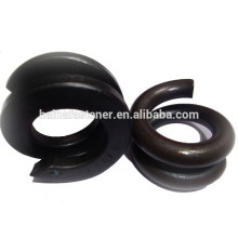 carbon steel double coil spring washer, black double coil spring washer