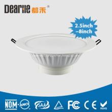 5 inch LED Frosted Downlight Anti-Glare 1400LM Die-Casting Aluminum Heatsink Ra80 AC100-260V