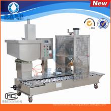 Halbautomatische Füllmaschine mit Capping für tägliche Chemikalie / Lack