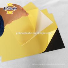 self adhesive PVC album inner sheets for photobook making