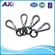 Zinc Alloy Snap Hook 5.5cm Height Nickle Plated Surface