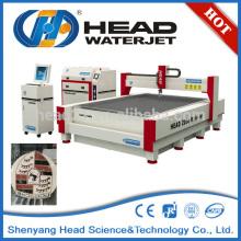 Corte de mármol 2000 * 3000 cnc jet de agua
