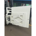 Forklift attachment Refrigerator Clamp subassembly