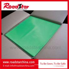 Hoja colorida prismática reflexiva del PVC, con 0,24 mm de espesor
