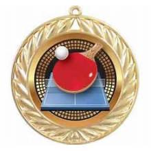 Custom Brass Souvenir Table Tennis Award Medal