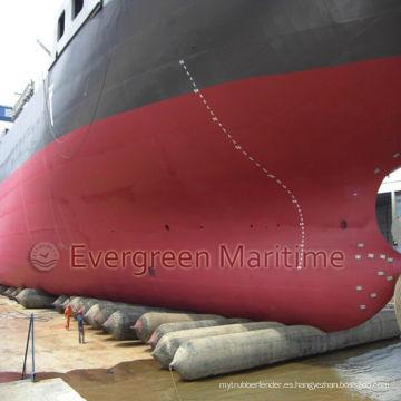 Airbags de elevación, Airbags flotantes de la nave marina, Airbags de lanzamiento y de aterrizaje, Airbag marino para la nave
