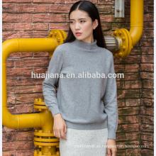 Suéter de punto de mujer de diseño básico