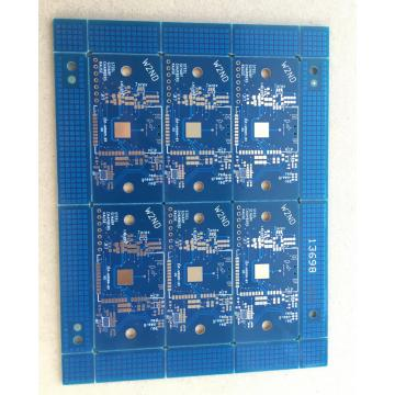 4 layer blue solder BGA via in pad