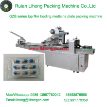 Gzb-250A High Speed Pillow-Type Automatic Capsule Plate Wrapping Machine