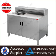 Top SS304/201 NSF Restaurant Commercial Bar Counters Design