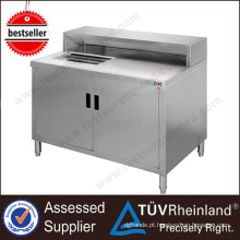 Top SS304 / 201 NSF Restaurant Commercial Bar Counters Design