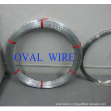 Oval Wire of Hot DIP Galvanized, 2.2X2.7mm