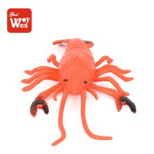 Shantou Großhandel tpr Gummi Tier Hummer Modell Badewanne Spielzeug für Kinder