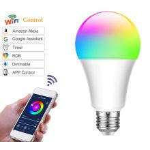 Smart WIFI RGBW LED Bulb led smart lights