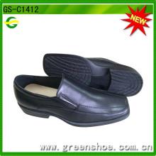 Sapatos de vestir de baixo preço para homens com sola de PVC