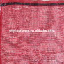 Material novo com saco de malha de lenha tubular UV