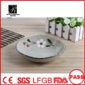 new designer porcelain unique salad bowl porcelain dessert plate