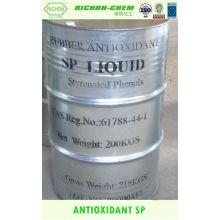 Alíbaba China proveedor de fabricación de aditivos químicos de goma antioxidante SP CAS NO.61788-44-1 C10H10O