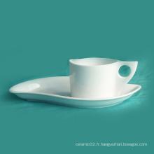 Ensemble de tasse de café en porcelaine (10CD13595)