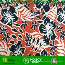 Polyester Microfiber Gewebe mit Blumendrucken für Heimtextilien